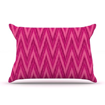 Amanda Lane Berry Chevron Pillow Case