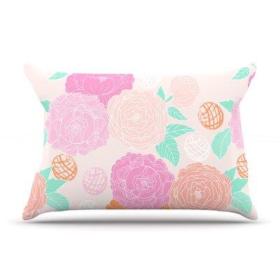 Anneline Sophia Peonies Peach Pillow Case