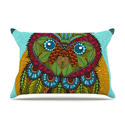 Art Love Passion Owl Pillow Case
