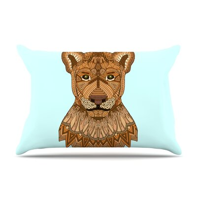 Art Love Passion Lioness Pillow Case