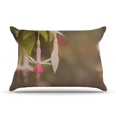 Angie Turner Fuchsia Flower Pillow Case