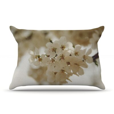 Angie Turner Flowering Pear Petals Pillow Case