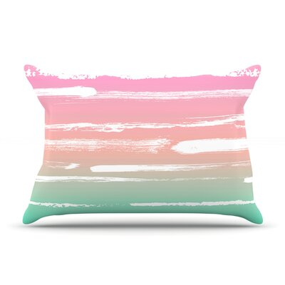 Anneline Sophia Painted Stripes Pillow Case