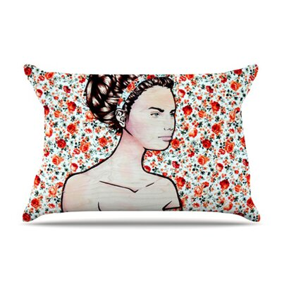 Brittany Guarino Spring Fashion Wood Flowers Pillow Case