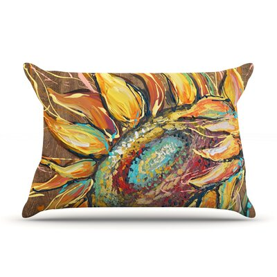 Brienne Jepkema Sunflower Flower Pillow Case