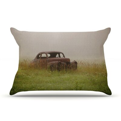 Angie Turner Forgotten Car Grass Pillow Case