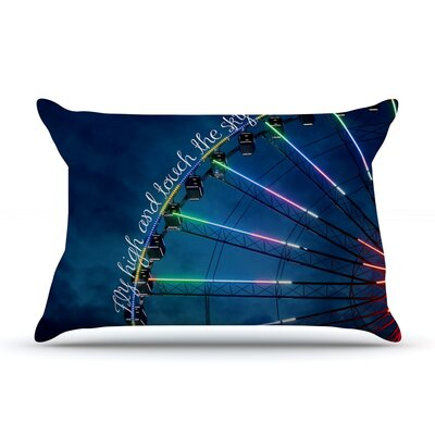 Beth Engel Fly High And Touch The Sky Pillow Case
