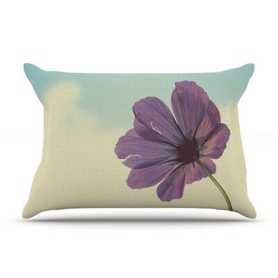 Beth Engel Torn But Never Broken Flower Pillow Case