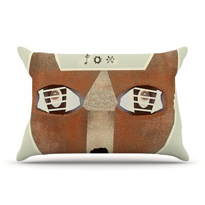 Bri Buckley Fox Face Pillow Case