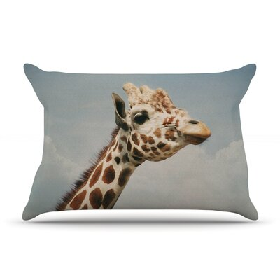Angie Turner Giraffe Animal Pillow Case