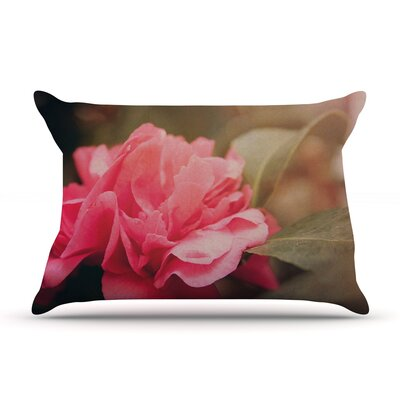 Angie Turner Camelia Flower Pillow Case
