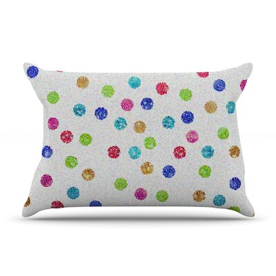 Beth Engel Seeing Dots Rainbow Pillow Case