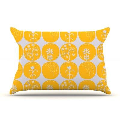 Anneline Sophia Dotty Papercut Circles Pillow Case