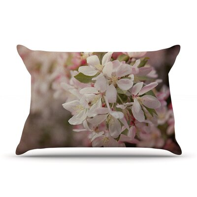 Angie Turner Apple Blossoms Flower Pillow Case