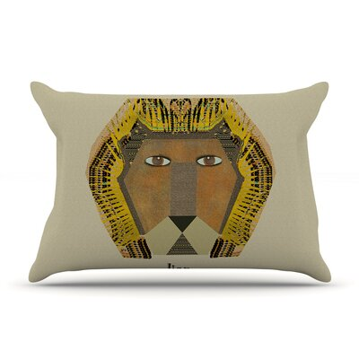 Bri Buckley Lion Pillow Case