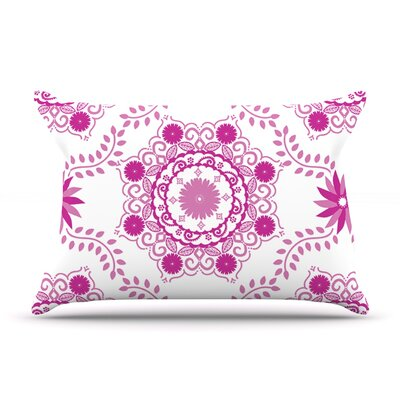 Anneline Sophia LetS Dance Pillow Case Color: Pink