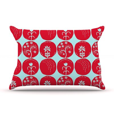 Anneline Sophia Dotty Papercut Circles Pillow Case