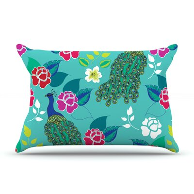 Anneline Sophia Mexican Peacock Rainbow Pillow Case