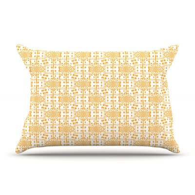 Apple Kaur Designs Diamonds Squares Pillow Case
