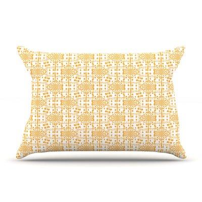 Apple Kaur Designs Diamonds Squares Pillow Case