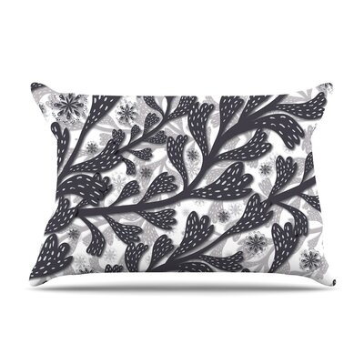 Akwaflorell Snow Houses Abstract Pillow Case
