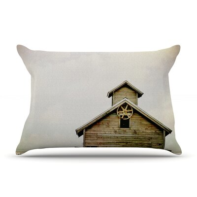 Angie Turner Barn Top Wooden Pillow Case