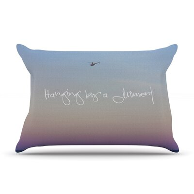 Beth Engel Hanging By A Moment Sky Pillow Case