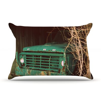 Angie Turner Ford Car Pillow Case