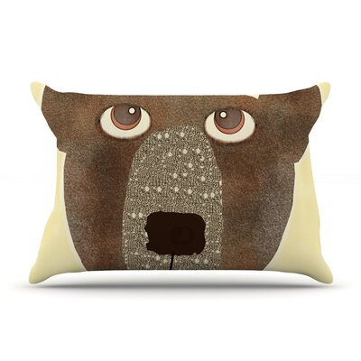 Bri Buckley Bear Pillow Case