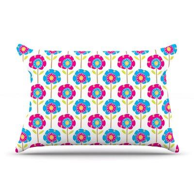 Apple Kaur Designs Lolly Flowers Pillow Case