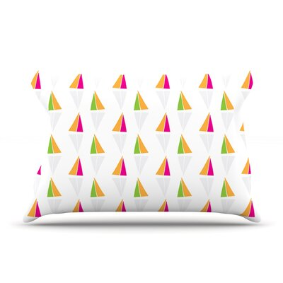 Apple Kaur Designs Triangles Pillow Case