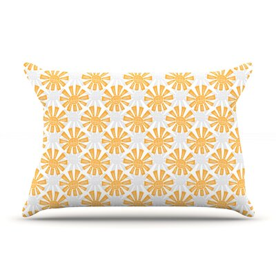 Apple Kaur Designs Sunburst Pillow Case