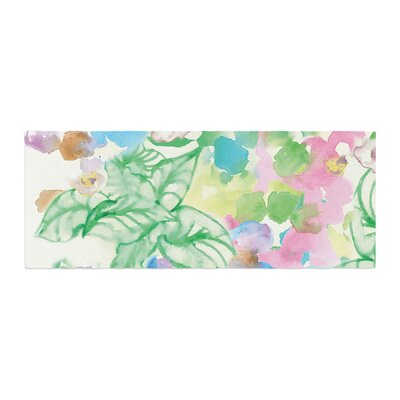 Sonal Nathwani Leaf Bouquet Bed Runner