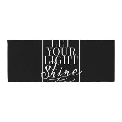 Noonday Design Let Your Light Shine Bed Runner