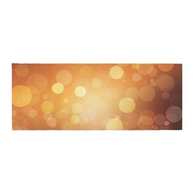 Sunrise Bokeh Bed Runner