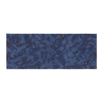 Will Wild Marble Abstract Bed Runner