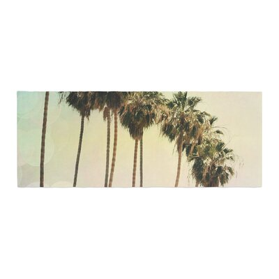 Sylvia Coomes Palm Trees Coastal Photography Bed Runner