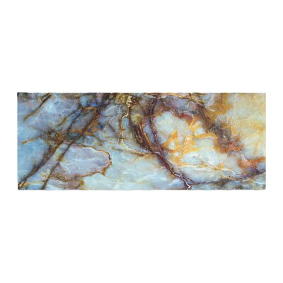 Opalized Marble Bed Runner