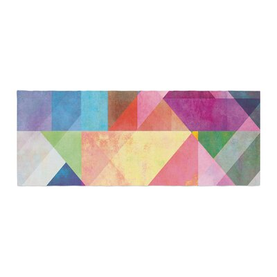 Mareike Boehmer Color Blocking Abstract Bed Runner