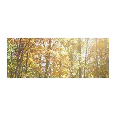 Sylvia Coomes Autumn Trees 2 Bed Runner
