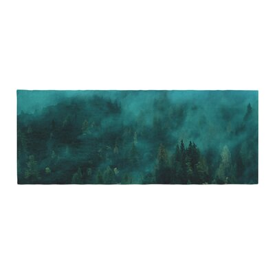 888 Design Forest Night Digital Bed Runner