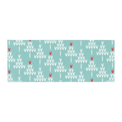 Zara Martina Mansen Christmas Holiday Pattern Bed Runner