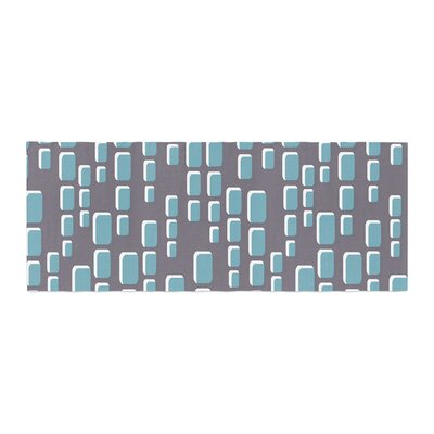 Michelle Drew Cubic Geek Chic Bed Runner