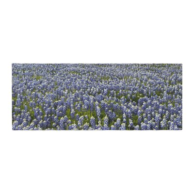 Susan Sanders Flower Fields Photography Bed Runner