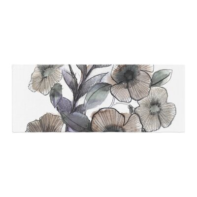 Sonal Nathwani Bouquet Illustration Bed Runner