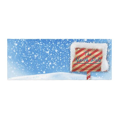 Snap Studio North Pole Snow Bed Runner