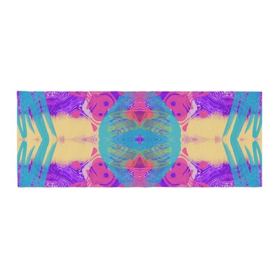 Vasare Nar Glitch Kaleidoscope Bed Runner