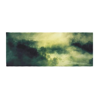 888 Design Dark Mystical Landscape Bed Runner