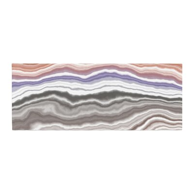 Iris Lake Bed Geological Abstract Bed Runner