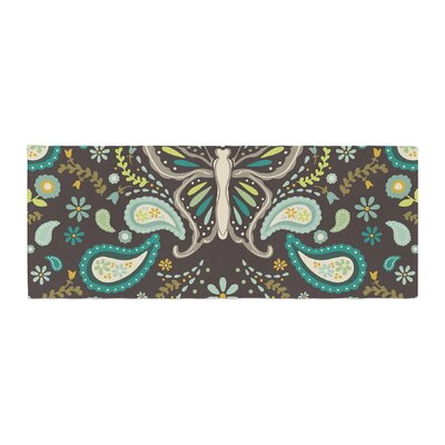 Suzie Tremel Butterfly Garden Bed Runner